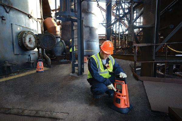 Områdesövervakning av gaser