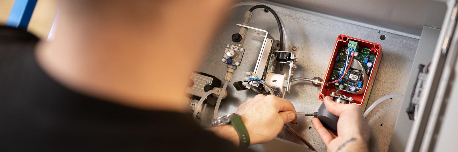 Gaslarm Gasvarnare Gasdetektor Gasmätare